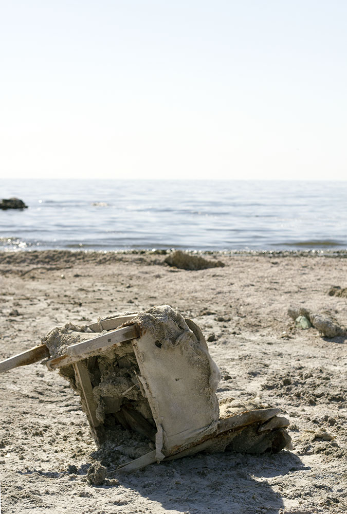 Salton Sea armchair